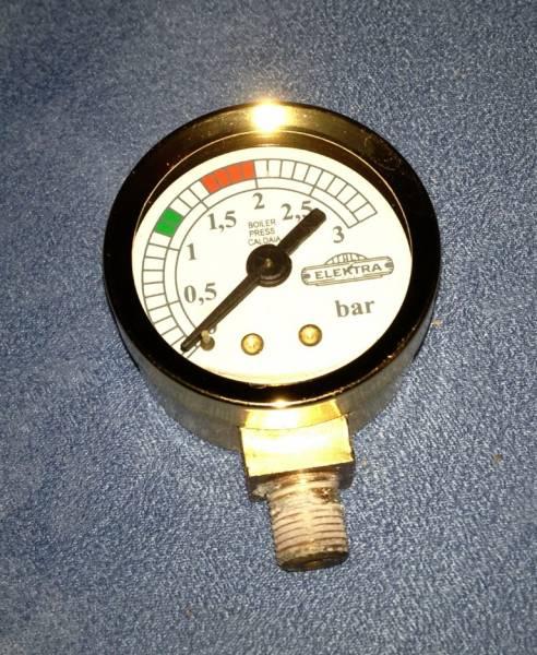 ELEKTRA Manometer Casa Gold