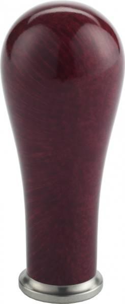 Tamper-Griff Exclusive Wurzelholz Bordeaux