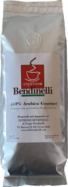 Bendinelli bei MCC - 100 % Arabica Gourmet - TESTSIEGER - Espresso Bohnen 250g