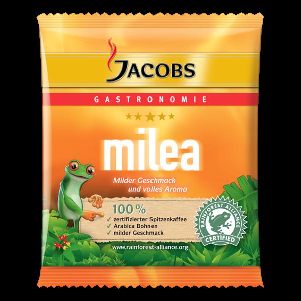 Jacobs Milea 60g Sachet - 80 Stück für Filtersysteme - NACHHALTIGE Entwicklung - 924547