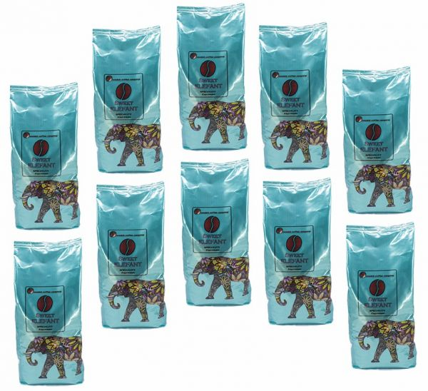 10x MCC Espresso - Sweet Elefant mit Elefantenbohne - Nussig