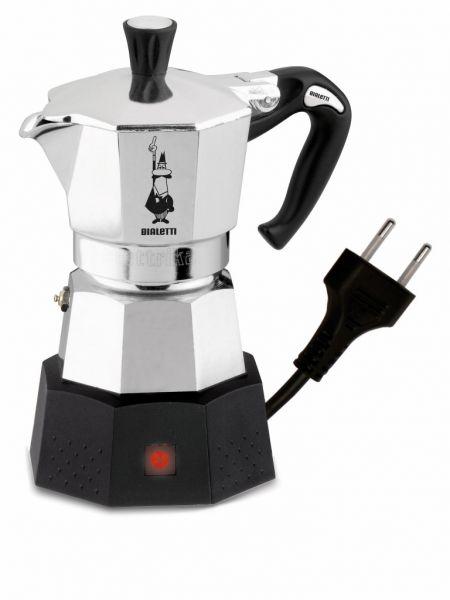 Bialetti Elettrika Elektrischer Aluminium-Espressokocher für 2 Tassen