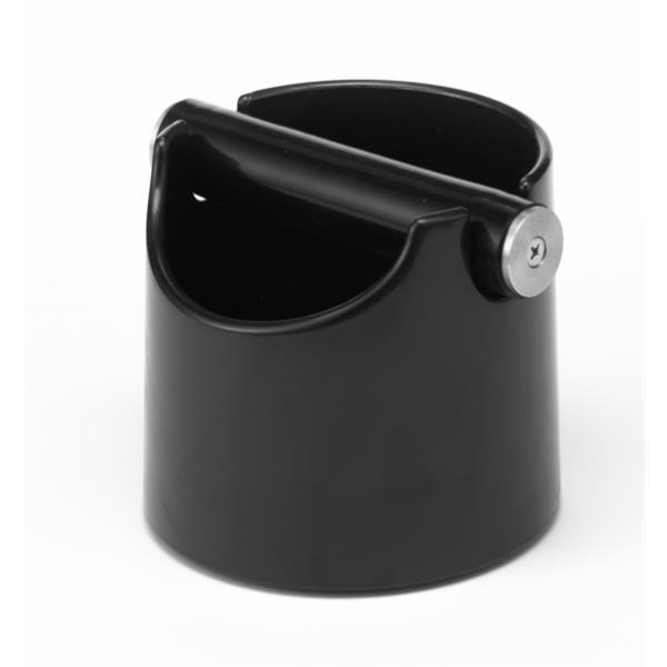 Abschlagbehälter Basic schwarz - Maße: Ø 10 x H 12 cm