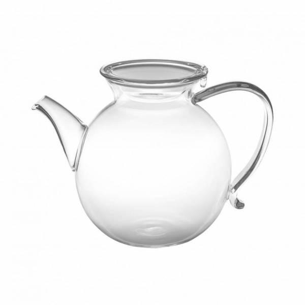 POTTO Borosilikat Glaskanne mit Glasdeckel für Kaffee und Coffee Dribbler