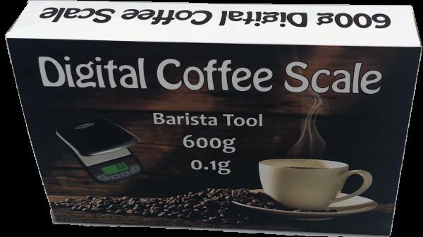 Digitale Waage für Kaffee und mehr - bis 600g