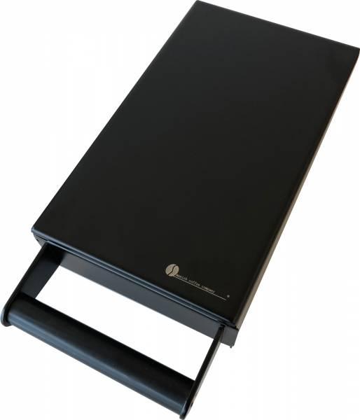 MCC Sudschublade Mini Edelstahl schwarz matt - massiv und sehr hochwertig - BxTxH: 14x24x6,5cm