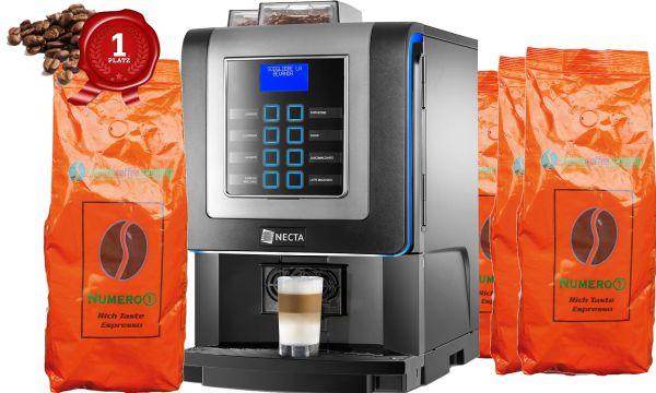 Necta KORO Prime Frischmilch - Monatlich 10kg Numero1 inklusive + Einbau bei Ihnen