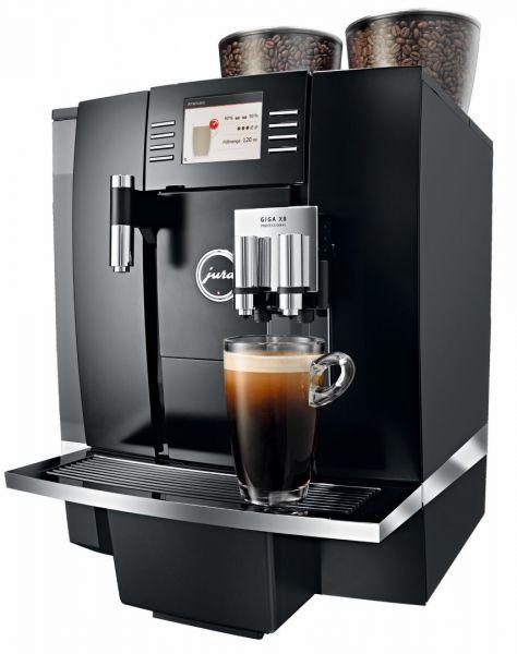 JURA GIGA X8 Tankversion für Kaffeekunden zum Test 14 Tage