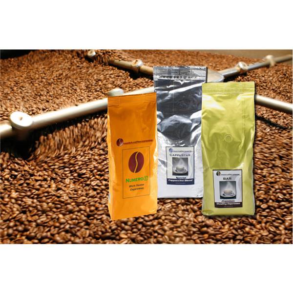 MCC espressofan - 3 x MCC Espresso-Röstungen à 1.000 g