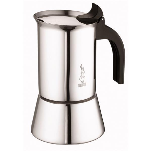 Bialetti Venus 6 Tassen Espressokocher Edelstahl