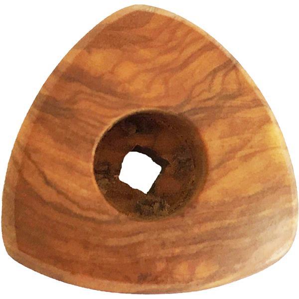 VBM Drehknopf klein für alle DOMOBAR Siebträgermaschinen aus Olivenholz