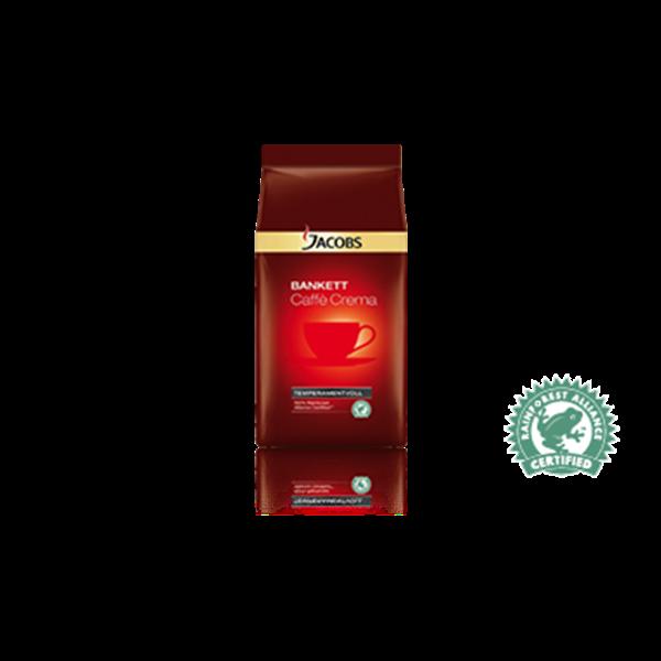 Jacobs Bankett-Caffé Crema Elegant 100% Rainforest Certified 1kg