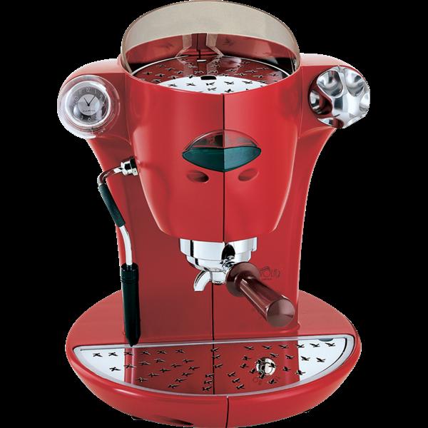 Elektra Nivola Espresso und Cialdemaschine (rot)