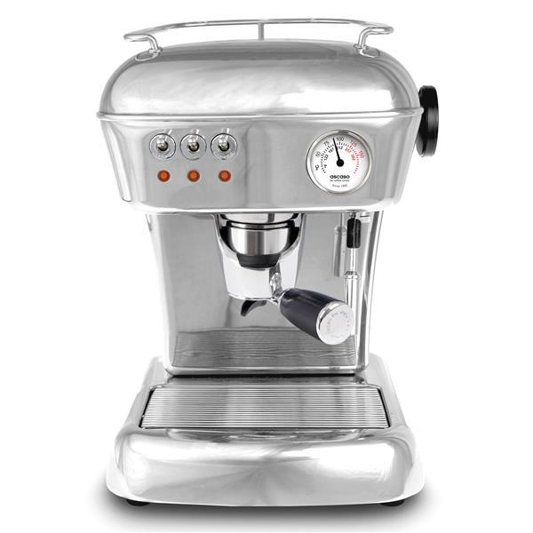 Ascaso Espressomaschine Dream Alu poliert FF für Pads