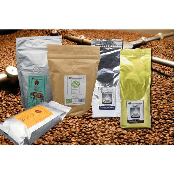 Probierset 5 x MCC Espresso-Röstungen à 250 g
