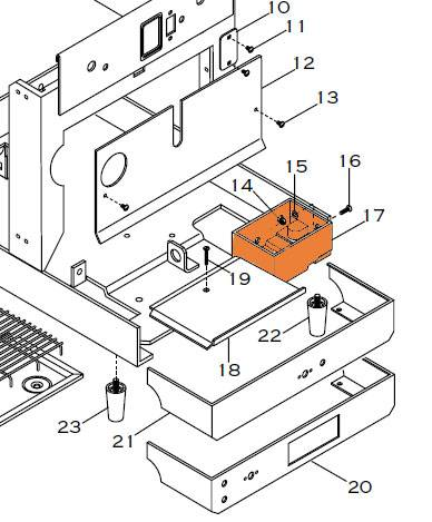ELEKTRA DRAIN BOX - 1262014