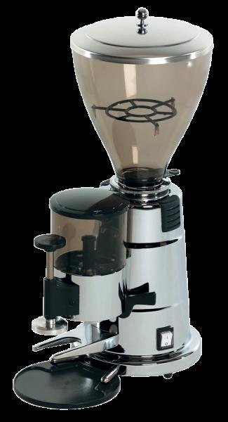 Elektra Belle Epoque Mühle Chrom automatisch MXAC Testgerät mit 60 Tassen Bezug