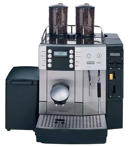 Franke Flair Festwasser Vollautomat Spezialitätenkaffeemaschine