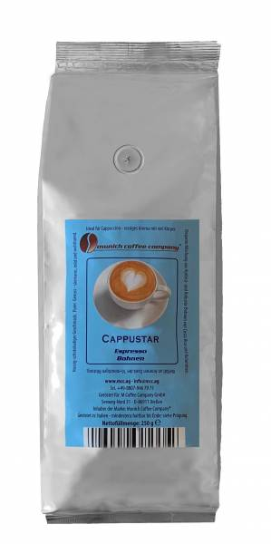 MCC Espresso Cappustar für Cappuccino - Bohnen 250g