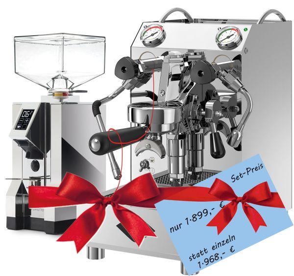 Angebot: VBM Domobar Junior (Doppio Boiler) + Mühle EUREKA New Mignon