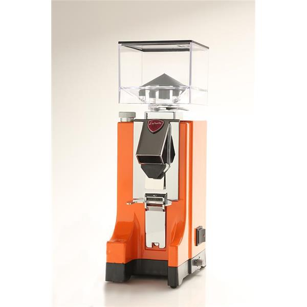 Eureka Mignon MCI grind on demand Mühle Orange mit Timer