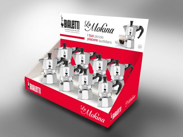 bialetti la mokina aluminium espressokocher f r 40 ml g nstig auf kaufen. Black Bedroom Furniture Sets. Home Design Ideas
