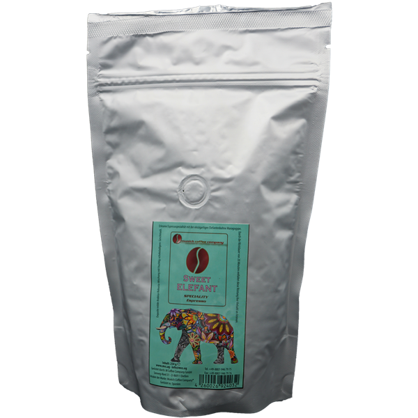 "MCC Espresso - ""Sweet Elefant"" mit Elefantenbohne - Bohnen 250g"