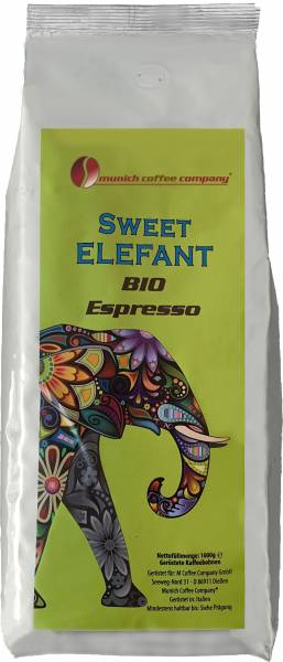 MCC Espresso - BIO Sweet Elefant - Bohnen 250g