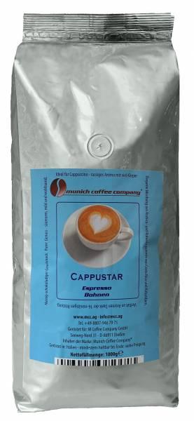MCC Espresso Cappustar Espresso für Cappuccino - Bohnen 1kg