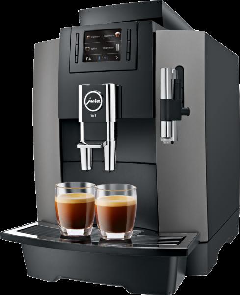 JURA WE8 Dark Inox INKLUSIVE KAFFEE (30 Tassen pro Tag) und GARANTIE. 36 Raten à