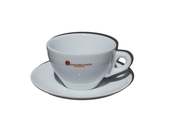 Caffelattetasse TORINO mit MCC-Logo - 320cc